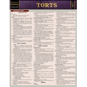 Torts : QuickStudy Laminated Reference Guide
