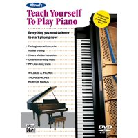 Teach Yourself: Alfred's Teach Yourself to Play Piano: Everything You Need to Know to Start Playing Now!, DVD (Audiobook)