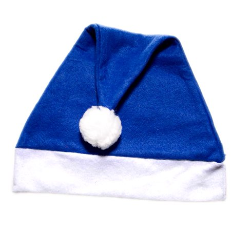 Blue Felt Santa Hat](Cheap Santa Hats)