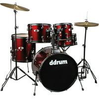 Ddrum D120B 5-Piece Drum Set Red