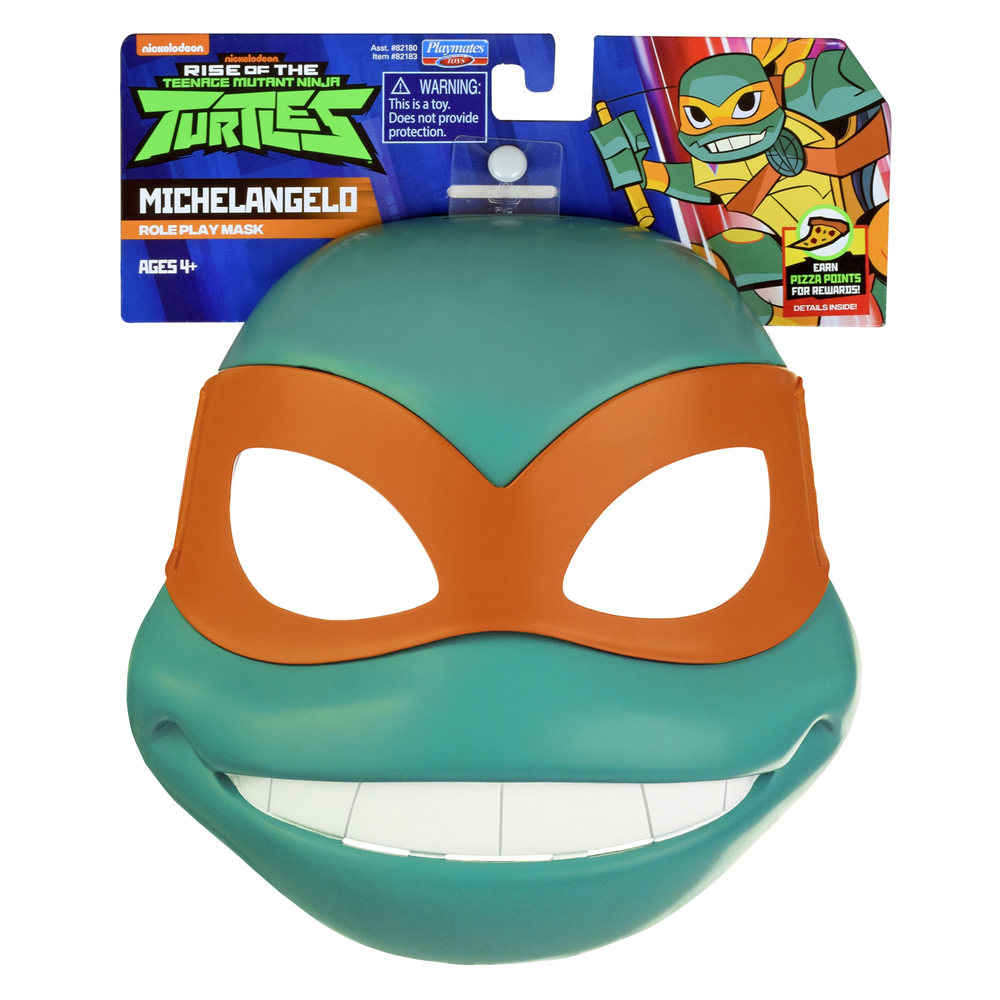 Rise of the Teenage Mutant Ninja Turtle Michelangelo's Role Play Mask