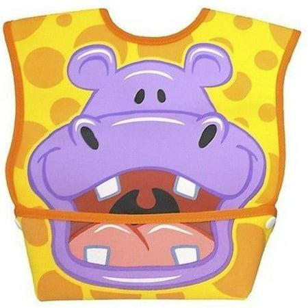 - Dex Big Mouth Hippo Leak-Proof Dura Bib w/ Catch-All Pocket - Large | 6 months +