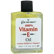 Cococare 100% Vitamin E Oil, 1 oz (Pack of 2)