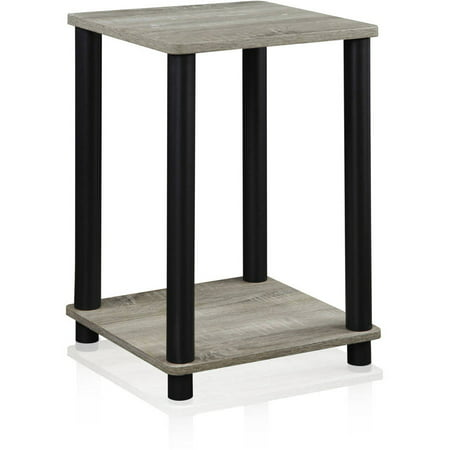 Furinno Turn-N-Tube End Table Indoor Plant Stand, Multiple Colors