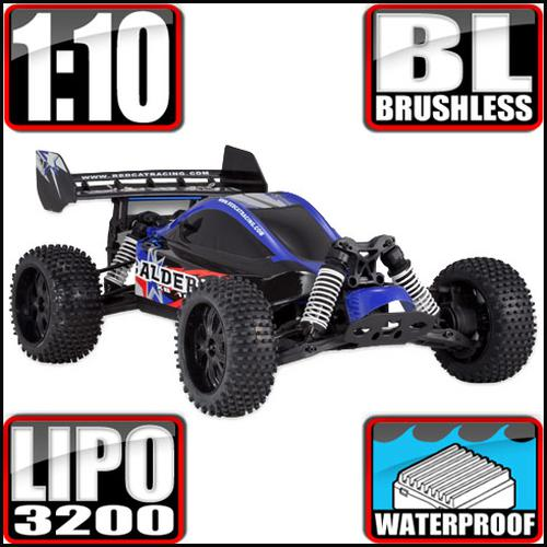 REDCAT 3591-3590 BLUE Caldera XB 10E 1/10 Scale Brushless Buggy