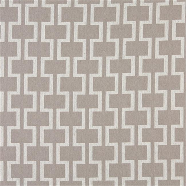 Designer Fabrics K0006F 54 in. Wide Grey And Off White, Modern, Geometric Designer Quality Upholstery Fabric