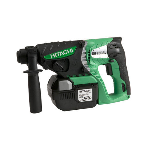 Hitachi 25.2V 3.0Ah Lithium Ion SDS Plus Rotary Hammer