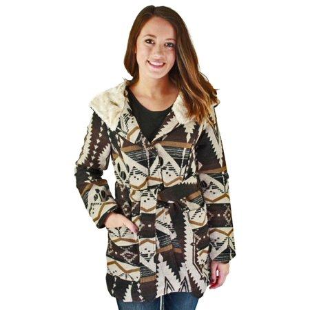 Shawl Collar Belted Jacket (Urban Republic Womens Juniors Shawl Collar Belted Wrap)