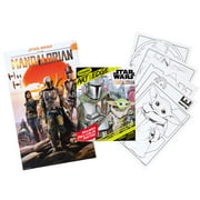 Star Wars The Mandalorian Art with Edge Coloring Book