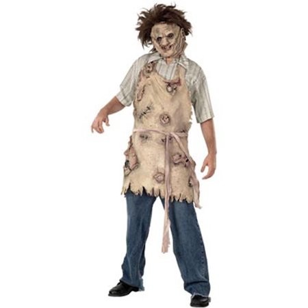 Leatherface Latex Adult Halloween Apron Accessory - Halloween Latex Applications