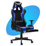 """43"""" Desktop Computer Gaming Desk Gaming Table or Big and Tall Computer Gaming Chair, Office Desk Table Chair Set for Teen Adult"""