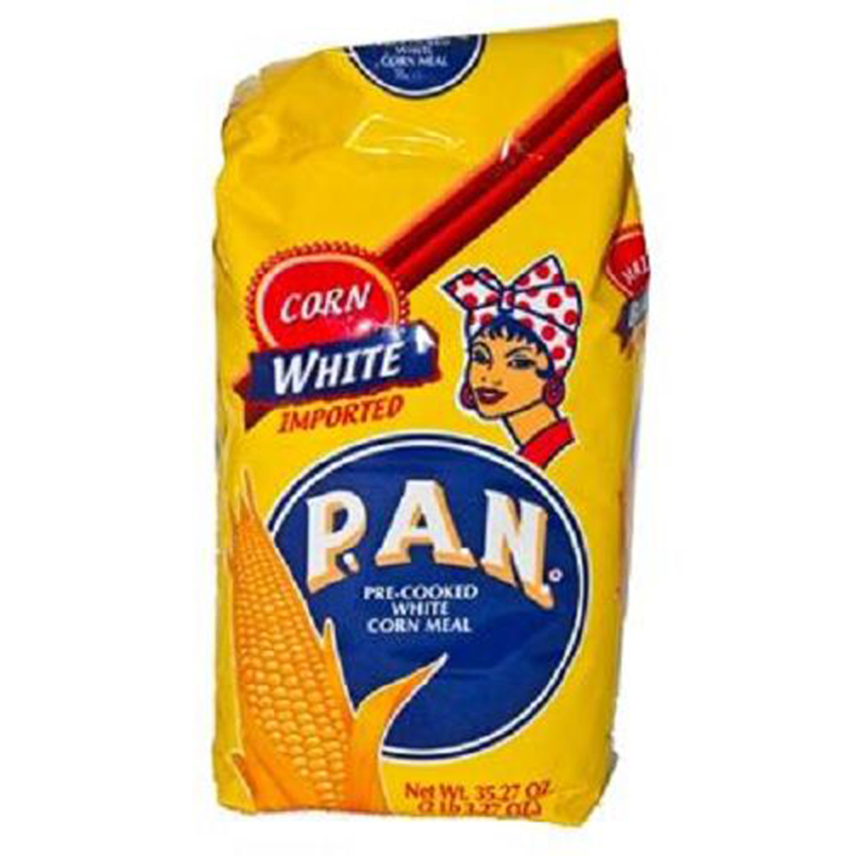 Product Of Pan, Pre-Cooked White Corn Flour, Count 1 - Flour / Grab Varieties & Flavors