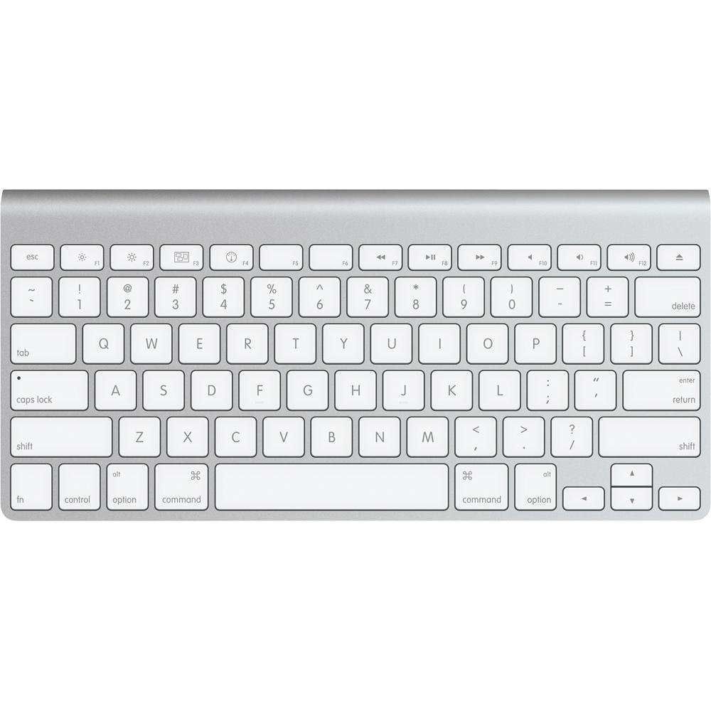 Refurbished Apple Wireless Aluminum Bluetooth Mac Compact Keyboard - MC184LLA