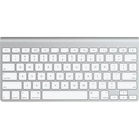 5204f787fff Refurbished Apple Macbook Wireless Bluetooth Compact Aluminum Keyboard -  MC184LLA - Walmart.com