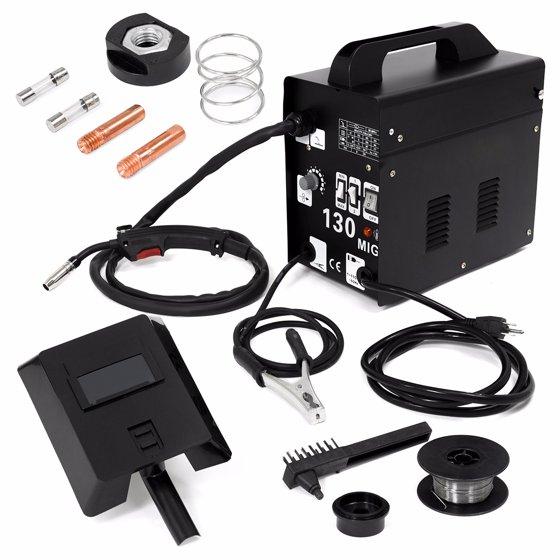 Stark MIG 130 Less Flux Core Wire Welder Welding Machine with ...