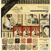 """Graphic 45 Deluxe Collector's Edition Pack 12""""X12""""-Communique"""