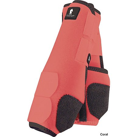 Classic Equine Legacy SMB Boots FRT Large Coral
