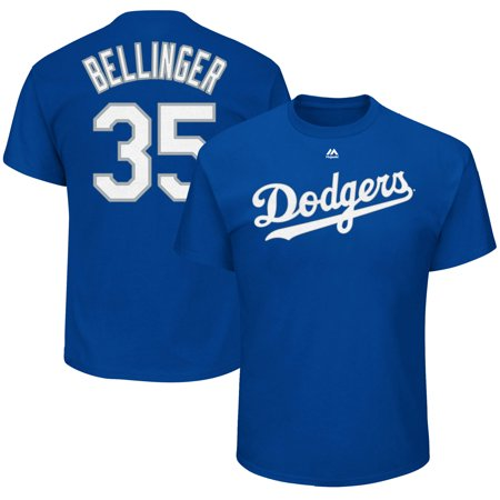 Cody Bellinger Los Angeles Dodgers Majestic Official Name & Number T-Shirt - - $31 Halloween Tattoo Los Angeles