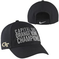 Georgia Tech Yellow Jackets Nike 2014 Orange Bowl Champions Coaches' Locker Room Adjustable Hat - Black - OSFA