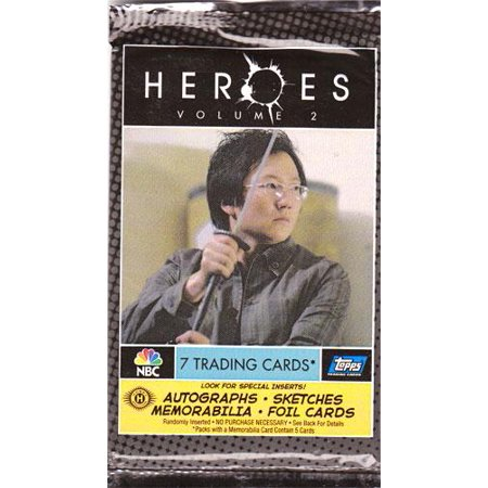 Heroes Heroes Series 2 Trading Card Pack [Hobby Edition]