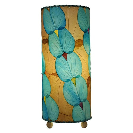 Butterfly Leaf Round Cylinder Lamp (Round Butterfly Leaf)