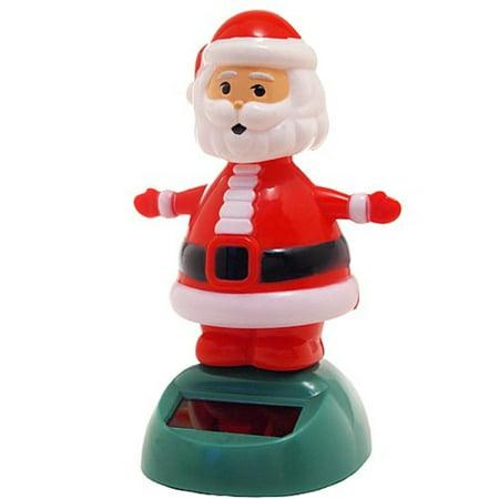 Solar Bobblehead Toy Figure - Dancing Santa