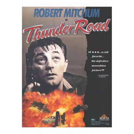 Pop Culture Graphics MOVGF7324 Thunder Road Movie Poster Print, 27 x 40 - image 1 de 1