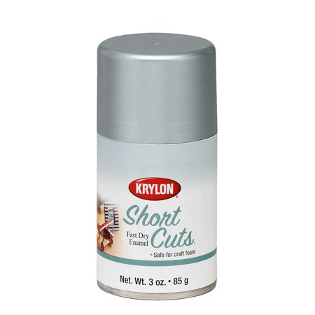 Krylon Short Cuts Spray Paint, Chrome
