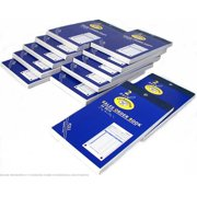 """12 Sales Order Receipt Books Carbonless Record Sheets 5 5/8"""" x 3 3/4"""""""