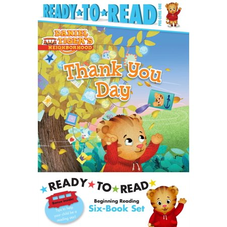 Daniel Tiger Ready-to-Read Value Pack : Thank You Day; Friends Help Each Other; Daniel Plays Ball; Daniel Goes Out for Dinner; Daniel Feels Left Out; Daniel Visits the (Best Time Of Day To Visit Sanibel Island)