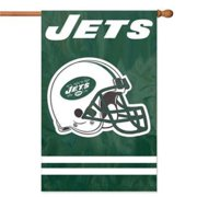 Party Animal AFJE Ny Jets Applique Banner Flag