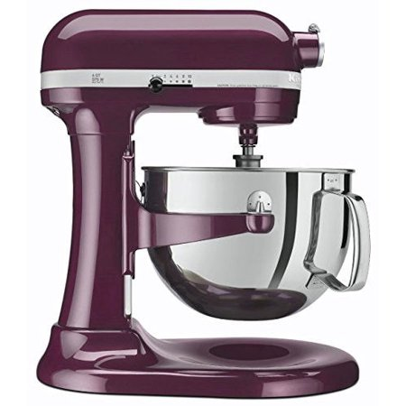 Professional Food Mixers - KitchenAid R-KP26M1XBY PROFESSIONAL 600 STAND MIXER 6 QUART 10-SPEED Boysenberry (Certified Refurbished)