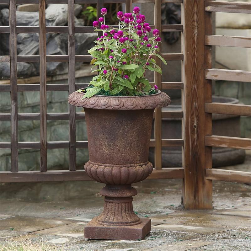 Classic Bronze Urn Planter - image 3 of 5