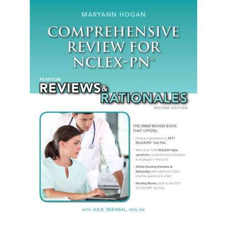 Pearson Comprehensive Review For Nclex Pn  Pearson Reviews   Rationales
