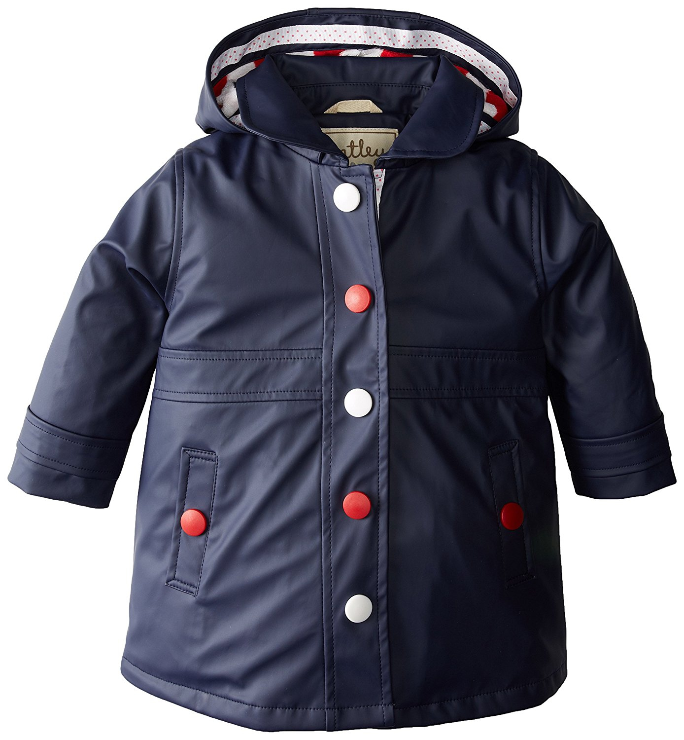 Hatley Girls' Solid Splash Jacket