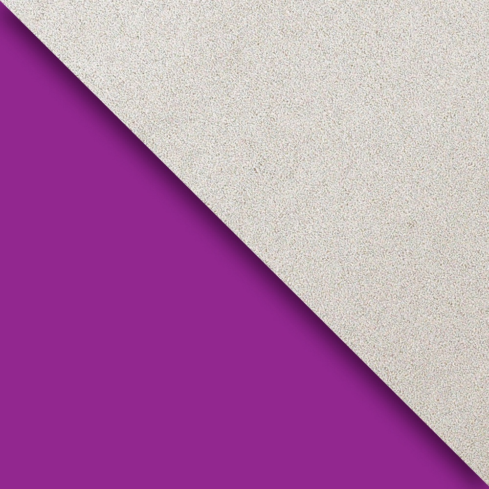 JAM Paper Industrial Size Bulk Wrapping Paper Rolls, Two,Sided Purple & Silver Kraft, 1/4 Ream (416 Sq Ft), Sold Individually