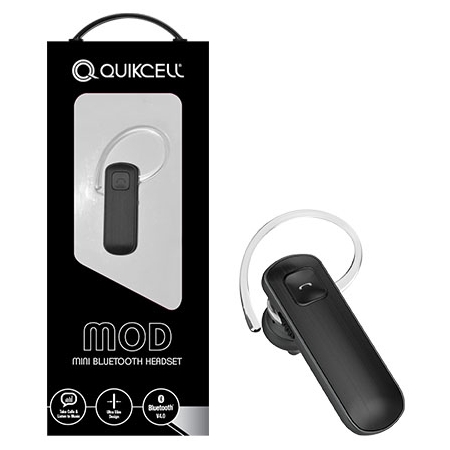 AlphaComm - MOD-BLK - MOD Bluetooth Headset in Black
