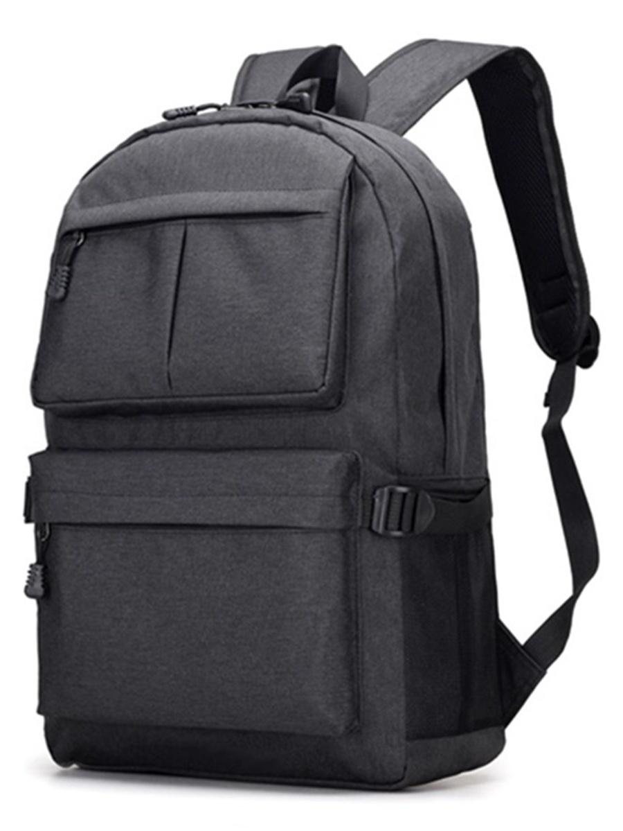 New Men Oxford Fabric Laptop Bag School Backpack Travel Bags With USB Charging by