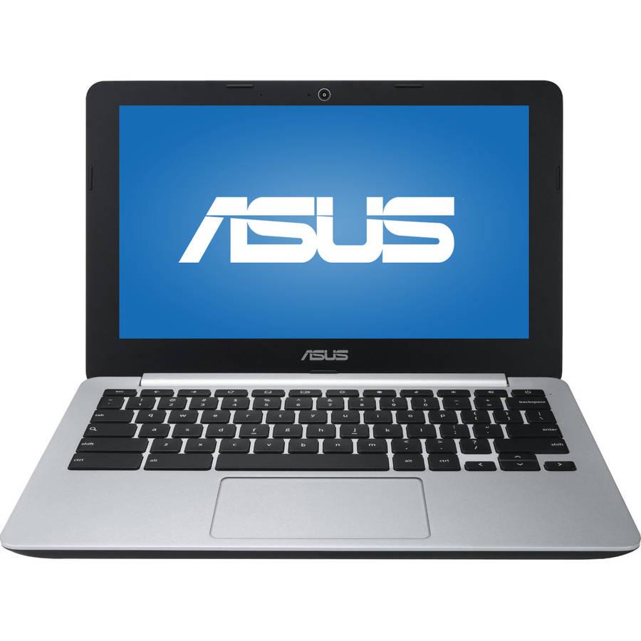 "ASUS C200MA-DS02 11.6"" Chromebook, Chrome OS, Intel Celeron N2840 Dual-Core Processor, 4GB"
