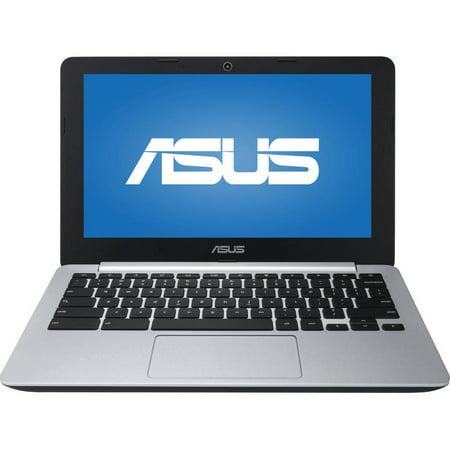ASUS C200MA-DS02 11.6 Chromebook, Chrome OS, Intel Celeron N2840 Dual-Core Processor, 4GB RAM, 16GB Flash Storage