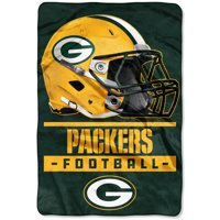 Green Bay Packers The Northwest Company 60'' x 80'' Sideline Oversized Micro Raschel Throw Blanket - Green - OSFA