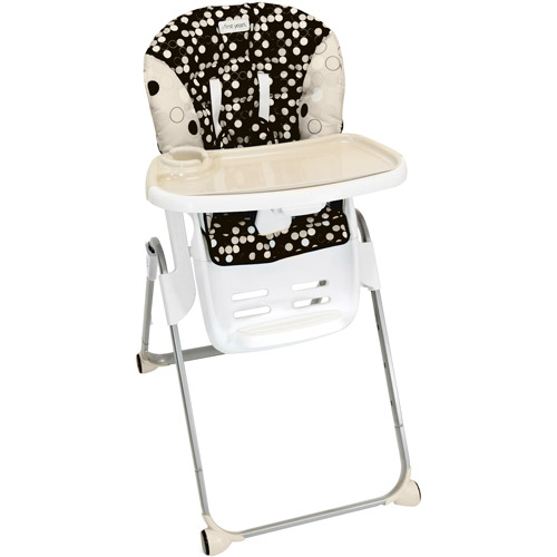 The First Years Family Time High Chair, Black and Khaki Multi-Colored