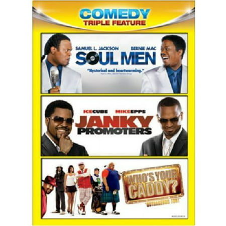 SOUL MEN/JANKY PROMOTERS/WHOS YOUR CADDY COMEDY TRIPLE FEATURE (DVD)(3DISCS