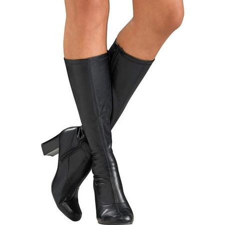 Sexy Black Go-Go Boots - Black Gogo Boots