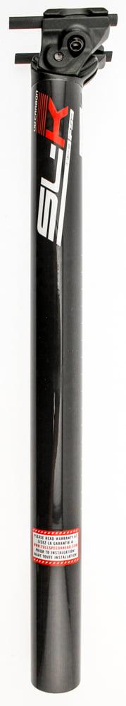 FSA SL-K  SB20 Bike Seatpost 31.6mm X 350mm UD Carbon Fiber Black NEW