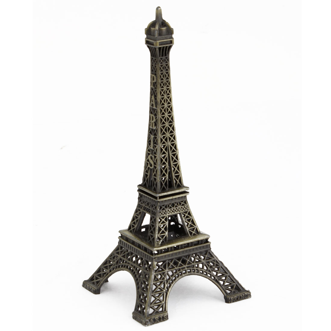 Letters Printing 3D Metal Eiffel Tower Style Model Gift Decoration