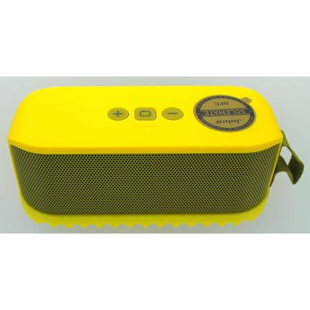 Jabra Solemate Portable Bluetooth Speaker - Yellow (Refurbished)