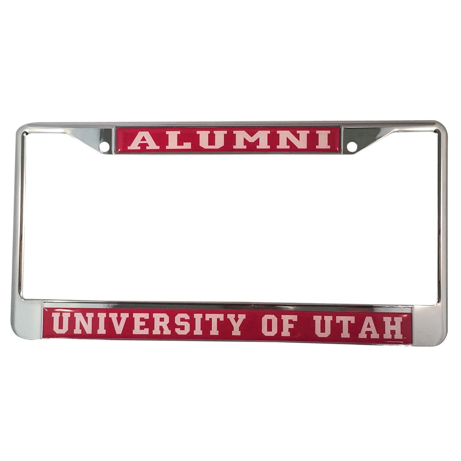 University of Utah Utes Alumni License Plate Frame - Walmart.com