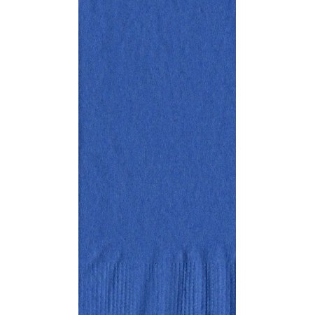 50 Plain Solid Colors Dinner Hand Towel Napkins Paper - Royal Blue