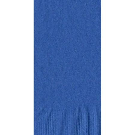 50 Plain Solid Colors Dinner Hand Towel Napkins Paper - Royal Blue - Dinner Paper Napkins